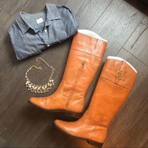 Ralph Lauren tall boots: size 8